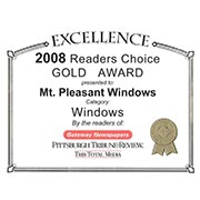 2008 Readers Choice Gold Award