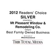 2012 Readers Choice Family Business - Silver
