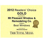 2012 Readers Choice Remodeler - Silver