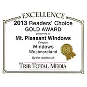 2013 Readers Choice Windows - Gold - Westmoreland