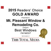 2015 Readers Choice Windows - Gold