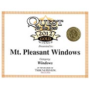 Quest for the Best 2012 Gold