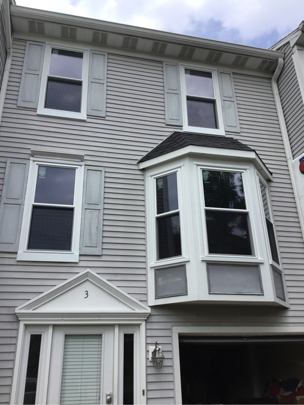 Quantum double hung windows after