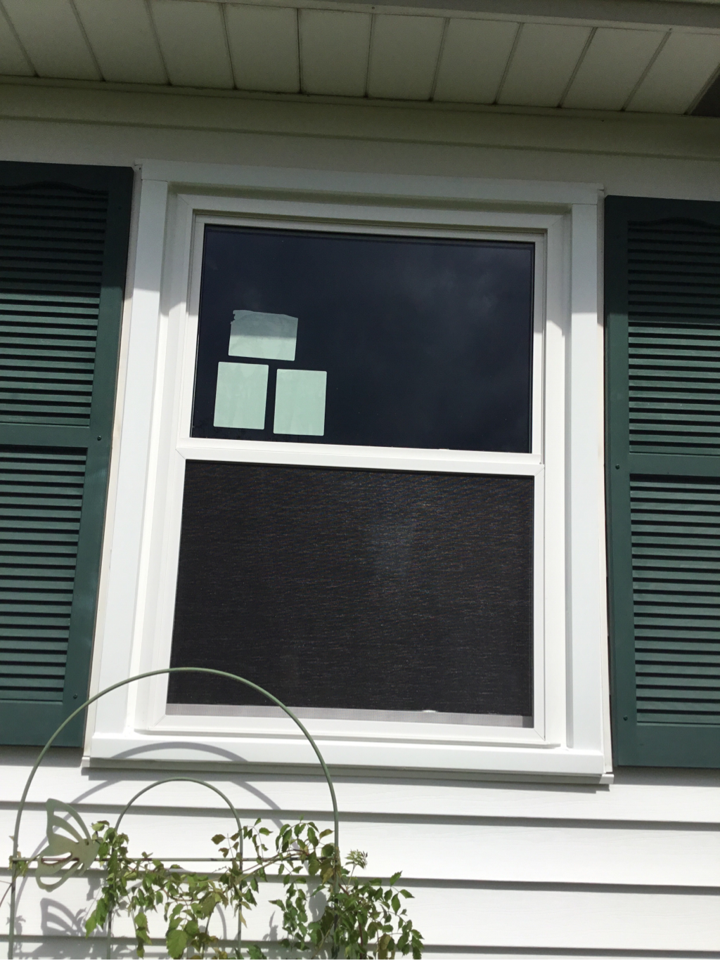 double hung window After