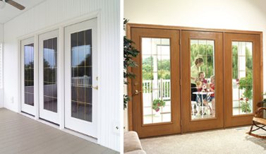 Hinged Patio Door Installation in Pittsburgh, PA