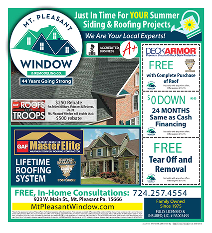 Summer Savings! Siding & Roofing Projects
