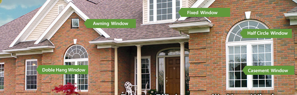 Types of Windows we Offer in Pittsburgh, Pennsylvania